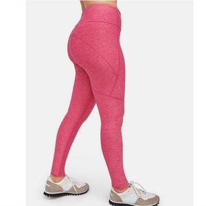 Outdoor Voices Pink 7/8 Warmup Active Legging A5.